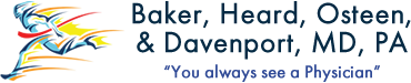 Baker, Heard, Osteen, and Dvaenport, MD, PA - Logo for orthodoks.com